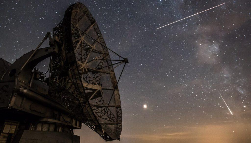 Персеиды в небе над Чехией в августе 2018 года Martin Divisek / AFP / Scanpix / LETA