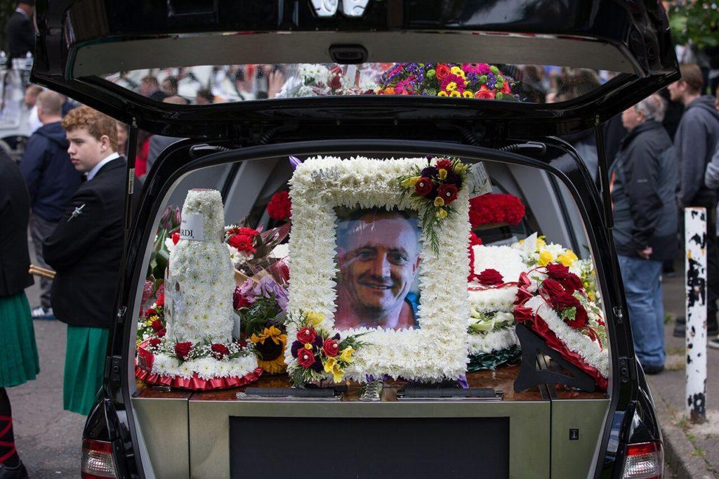 Похороны Пола Мэсси. 28 августа 2015 года Joel Goodman / Lnp / REX / Vida Press
