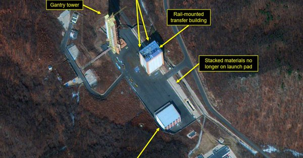 КНДР начала восстанавливать ракетный полигон, который обещала демонтировать после встречи Ким Чен Ына с Трампом