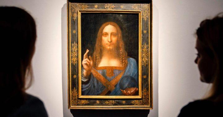 The New York Times сообщил об исчезновении картины Леонардо да Винчи «Спаситель мира». Она стоит 450 миллионов долларов