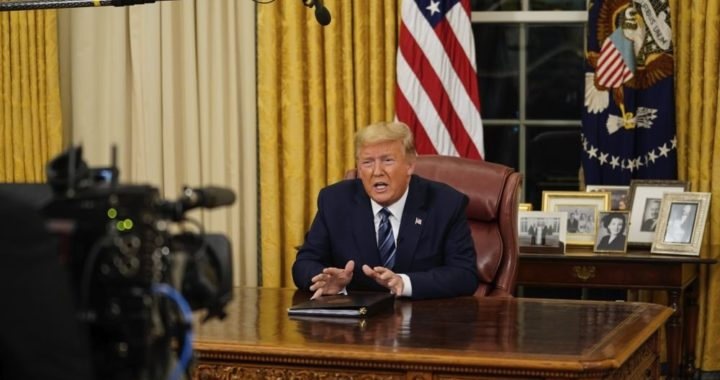 Трамп на месяц запретил въезд в США из Европы