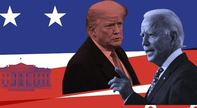 Опубликованы первые результаты президентских выборов США.
