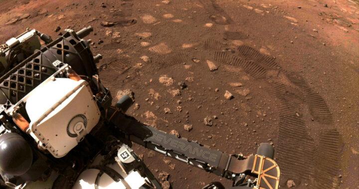 Китайский космический аппарат впервые успешно сел на Марсе